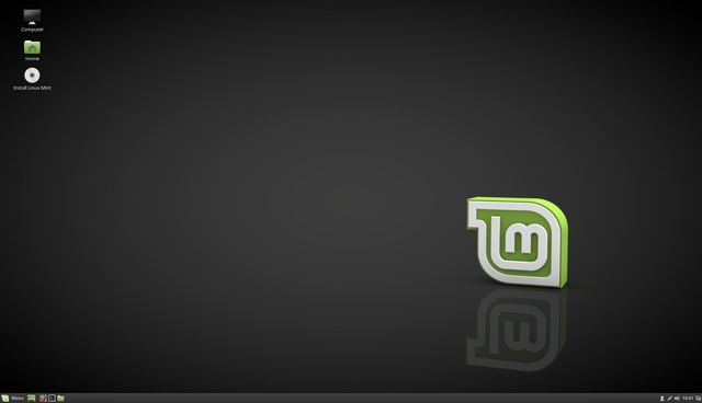 The Linux Mint Cinnamon desktop