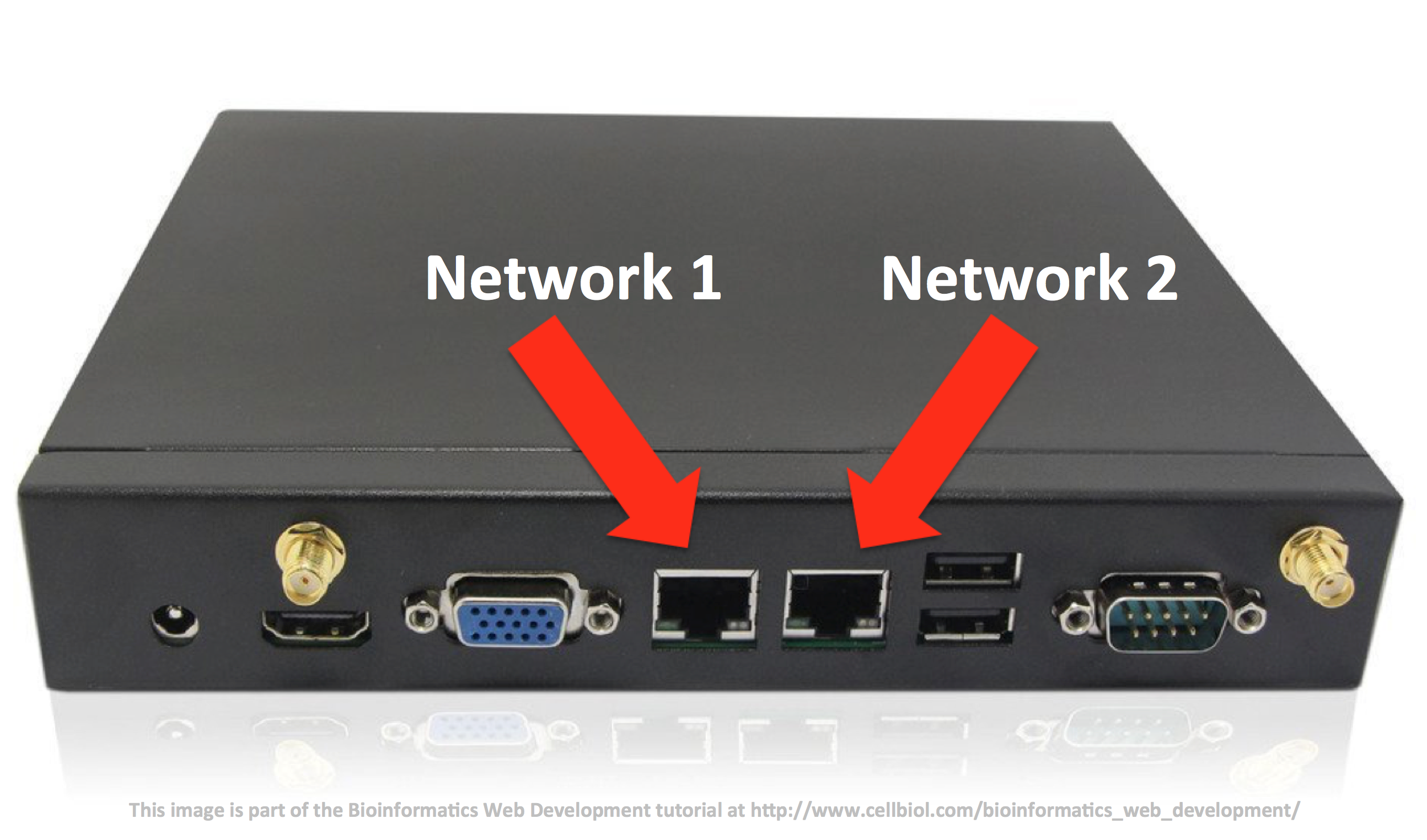 1 3 networking basics bioinformatics web development a pc with two ethernet ports could be a perfect starting point to build a router baditri Images